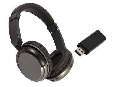 ... Cuffia Senza Fili Wireless per TV con Ricevitore USB e Radio FM 2 1f002d502e34