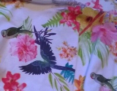 BNWT Me Too designer girl 2-3 years outfit t shirt top skirt pink floral bird 4