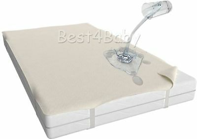 Waterproof Mattress Protector Cover- Cot 120x60- Cot Bed 140x70  In UK Stock 2