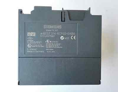 1PC used Siemens 6ES7314-6CF02-0AB0 6ES7 314-6CF02-0AB0 #019 2