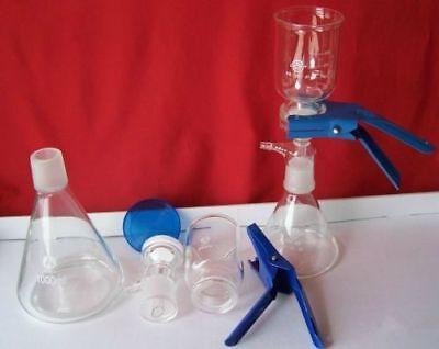 1000ml Vacuum Suction Filter Device Lab Buchner Filting Apparatus 6