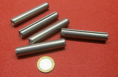 """420 Stainless Steel, Slotted Roll Spring Pin, 1/2"""" Dia x 2 3/4"""" Length, 5 pcs 2"""