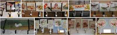 Garderobe Wandhaken +Schild Holz Mom's Kitchen Garderoben Haken Vintage Ästhetik 6