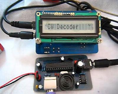 CW Decoder Morse Code Reader + CW Signal Generator /PS2 keyboard/Ham Radio 2