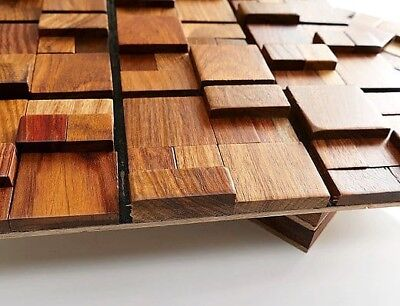 Wood Wall Tiles, Decorative Wall Tiles, Luxurious Wall Decor, 3D Wall Coverings 5