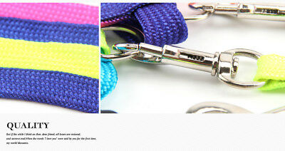 Cat Kitten Puppy Soft Nylon Adjustable Harness Leash with Clip Pet Walking Lead 6