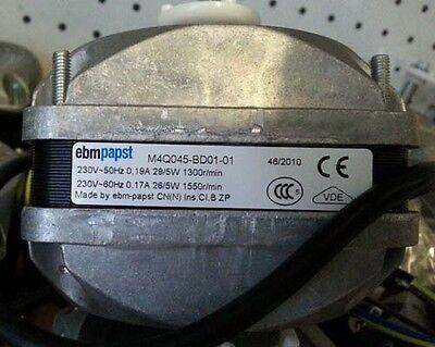 Top quality Heavy Duty EBM PAPST 5 WattUniversal condenser fan Motor 3