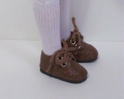 "BROWN Boy Doll Shoes For Tonner 14/"" Sandy McCall Debs"
