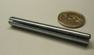 """Zinc Plate Steel, Slotted Roll Spring Pin, 5/16"""" Dia x 2 3/4"""" Length, 25 pcs 3"""