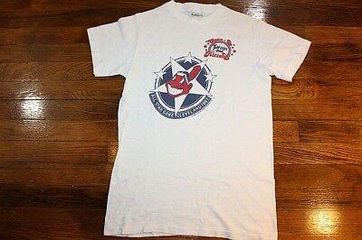 XS * vtg 80s 1981 CLEVELAND INDIANS t shirt * mlb baseball OHIO 60.28