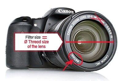 HOYA HMC UV(C) Camera Lens Filter Slim 37/40.5/43/46/49/52/58/62/67/72/77/82 mm 5