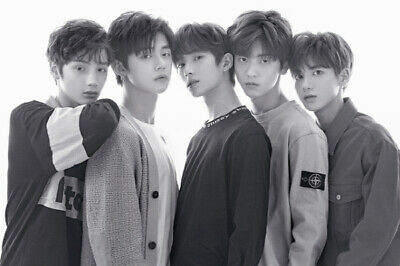 TXT THE DREAM CHAPTER:STAR Album CD+POSTER+Photo Book+3p Card+2ea Sticker SEALED 2
