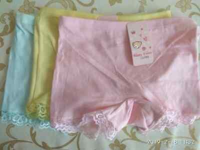 4 Pack Girls Boxer Shorts Underwear Briefs Cotton Knickers Age 4-11 years 10