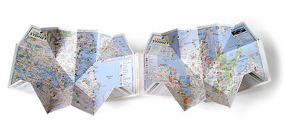 Pop Out Maps - USA/Aus/Asia/Africa/M.East Pocket Size Fold Up EXPRESS DELIVERY