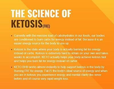 ☀ Best Keto BHB 2400mg Diet Pills Boost Fat Burn Rapid Advanced Weight Loss  ☀ 8