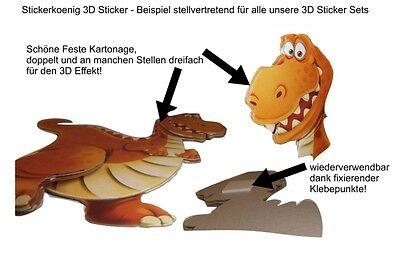 3d Wandsticker Zootiere Elefant Lowe Affe Wandtattoo Kinder Sticker Aufkleber Eur 13 95 Picclick De