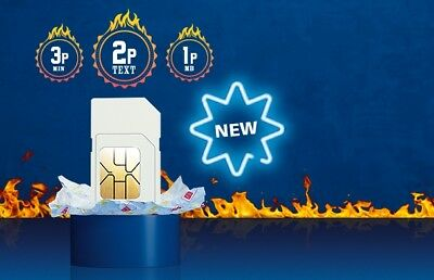 O2 Classic Sim Card  2G/3G/4G Pay As You Go  Standard Micro Nano 9