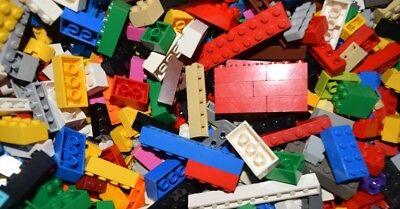 ☀️NEW Lego 100 Bulk ALL BRICKS BLOCKS LOT Mixed Sizes Basic Building Pieces Mix
