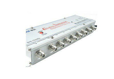 R SODIAL 8 Way TV RF Coaxial Cable Splitter for CATV Signal L5N2