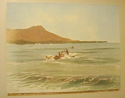 Hawaii Rarest 1898 Frank Davey Personal Photo Album ,1898 ,42 Hand Tinted Photos 6