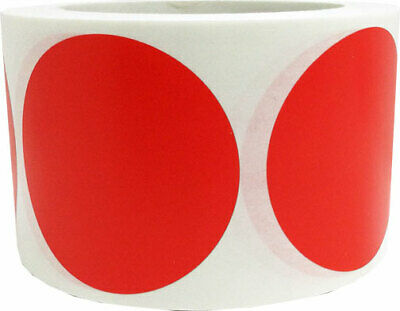 Circle Dot Stickers, 3 Inches Round, 500 Labels on a Roll, 39 Color Choices 4