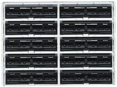 100 Personna Twin 2 ( TWIN II ) Razor Blades - Compatible With GIllette's Trac 2