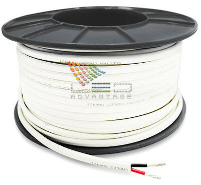 1M X 2mm 6 AMP MARINE TINNED TWO CORE WIRE//ELECTRICAL LED CABLE BOAT//CARAVAN