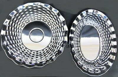 "Stainless Steel Round Basket 9.1//2/""Diameter Tableware Serving"
