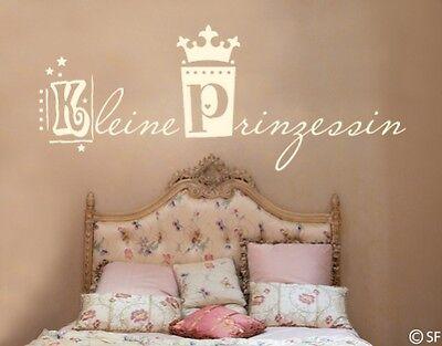 Dekoration Wandtattoo Kleine Prinzessin Kinderzimmer Madchen Baby Kind Kinder Uss477 Kabtel Mk