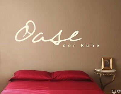 Wandtattoo Oase Der Ruhe Spruche Wohnzimmer Schlafzimmer