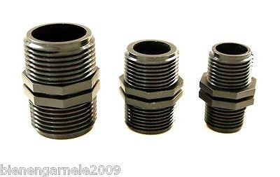 """3x Verbinder Muffe 1/2"""" für Wasserfilter Filtergehäuse Umkehr Osmoseanlage Pumpe 3"""