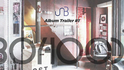 UNB [BOYHOOD] 1st Mini Album CD+Photo Book+2p Photo Card+Sticker K-POP SEALED 2