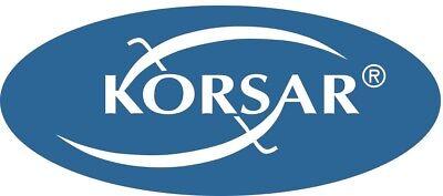 KORSAR® Latz-Bermuda Arbeitshose (240g/m2) blau/schwarz kurze Hose Shorts