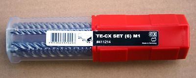 neue hochwertige TE-CX 6//22 Bohrer von HILTI mit SDS plus Aufnahme 32Stk