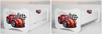 SONDERPREIS Kinderbett Jugendbett Matratze Lattenrost Schublade 140x70 & 160x80 2