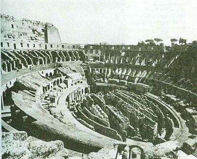 History of Roman Gladiators Bustuarii Coliseum Pix: Mosaics Ampitheatres Arenas