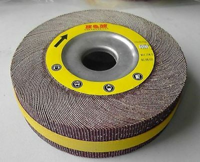 "6-in Flap Wheel 6/"" x 2/"" x 1/"" 60 grit Unmounted for Bench Pedestal Grinder"