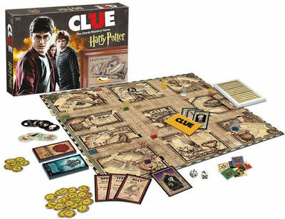 Clue Harry Potter  The Classic Mystery Board Game USAopoly +2 Bonus Cards 3