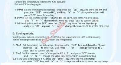 DC 12V High Temperature K-Thermocouple Digital Thermostat Temp Controller Switch 8
