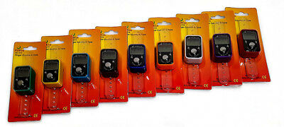 LCD Digital Digit  Electronic Hand Finger Tally Counter For Golf, School & Spot