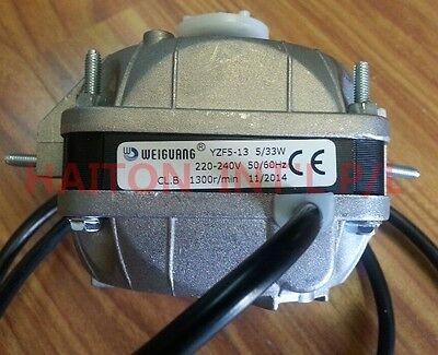 Heavy Duty Square Fan Motor 5W sleeve bearing dual mounting distance18/26mm 2