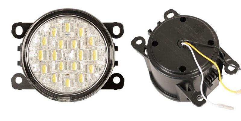 LED Tagfahrlichter Set Citroen C4 Coupe Tagfahrleuchten Tagfahrlicht TFL DRL 2