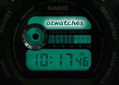 Casio G-Shock Digital Mens Watch Dw9052-1V Black/red 2Y Warranty Dw-9052-1Vdr 9
