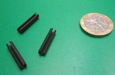 Steel Metric Slotted Spring Pin, M4 Dia x 20 mm Length, 200 pcs 3
