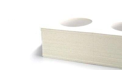 100 X Dollar size 2x2 cardboard mylar coin holder flip for SILVER DOLLARS 40 mm 2