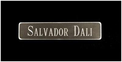 Salvador Dali Daum Azul Pate de Verre Placa Firmado Triomphale Surrealista Obra 7