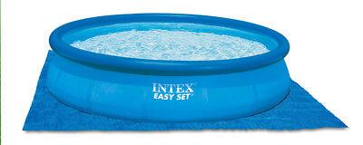 Intex Lona Protección Suelo Camping para Fácil Set Quick Up Swimming Piscinas 3