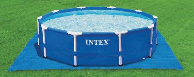 Intex Lona Protección Suelo Camping para Fácil Set Quick Up Swimming Piscinas 2