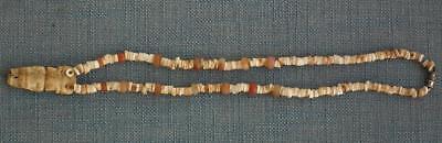 Antique Pre-Columbian 500-1500 A.D. Tairona Necklace Pendant With Priest Figure 7