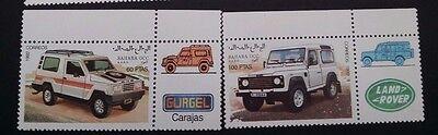 1992- Sahara OCC. R.A.S.D. Set of 6 x Four Wheel Drive Vehicles MUH